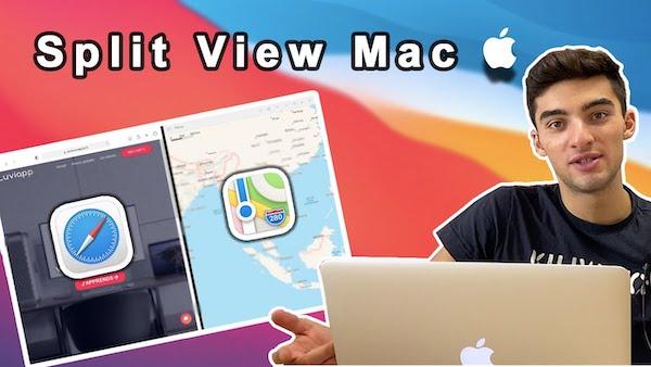 Comment mettre deux fenêtre côte à côte sur Mac